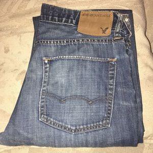 AE LowRise Boot Cut Men's Jeans